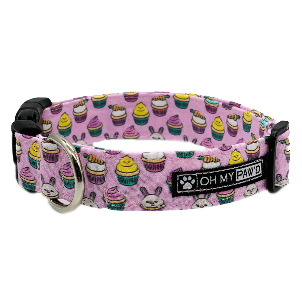 Easter Cupcakes Dog Collar