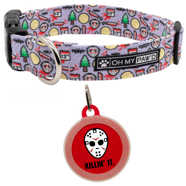 Killin' It Dog ID Tag