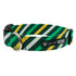 Green Stripe Dog Collar