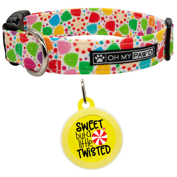 Gumdrop Dog Collar