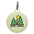 Happy Camper Dog ID Tag