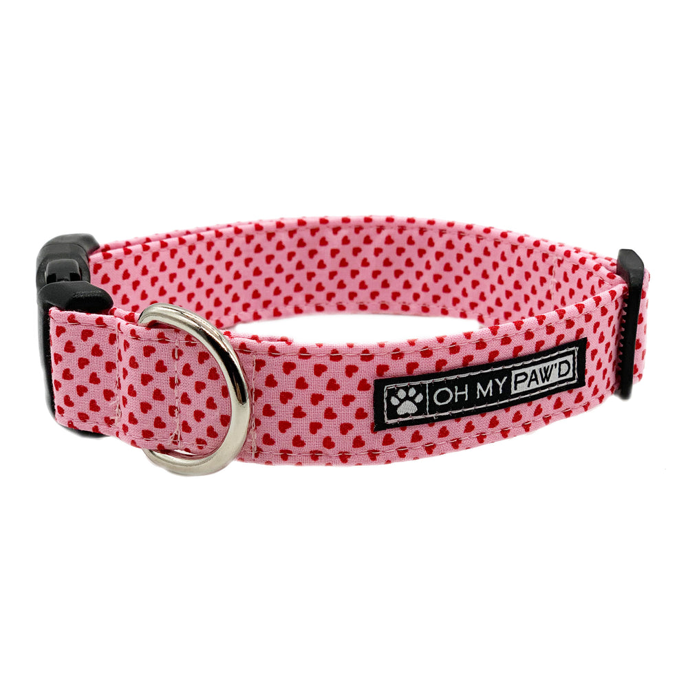 Tiny Hearts Dog Collar