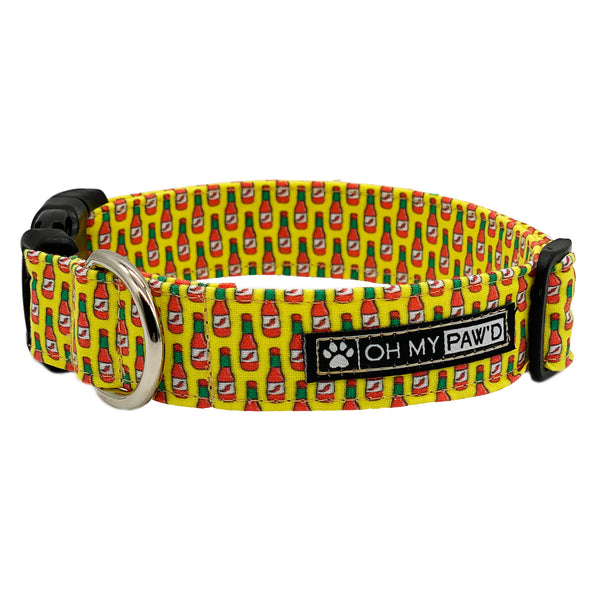 Hot Sauce Dog Collar