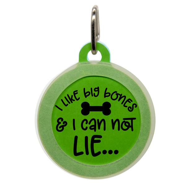 I Like Big Bones Dog ID Tag