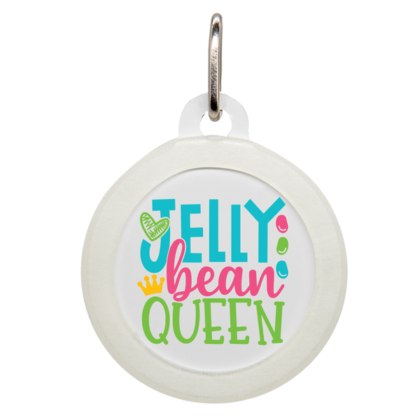 Jelly Bean Queen Dog ID Tag