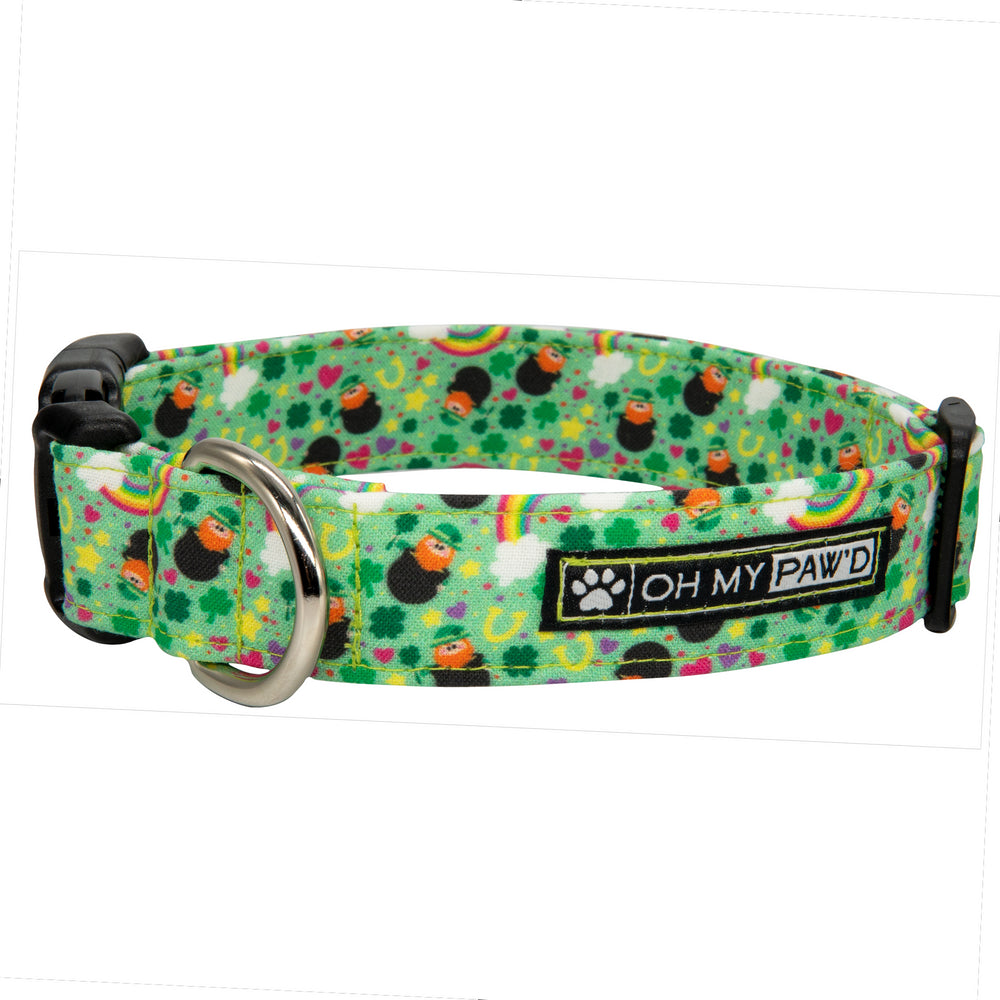 Leprechaun Dog Collar
