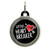 Little Heart Breaker Dog ID Tag