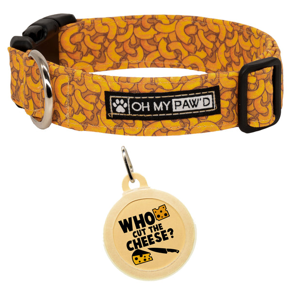 Mac & Cheese Dog Collar