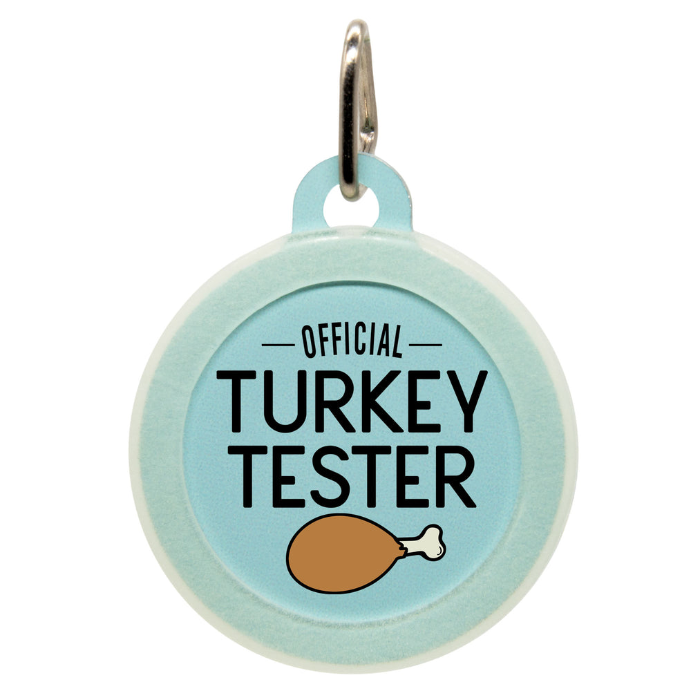 Official Turkey Tester Dog ID Tag