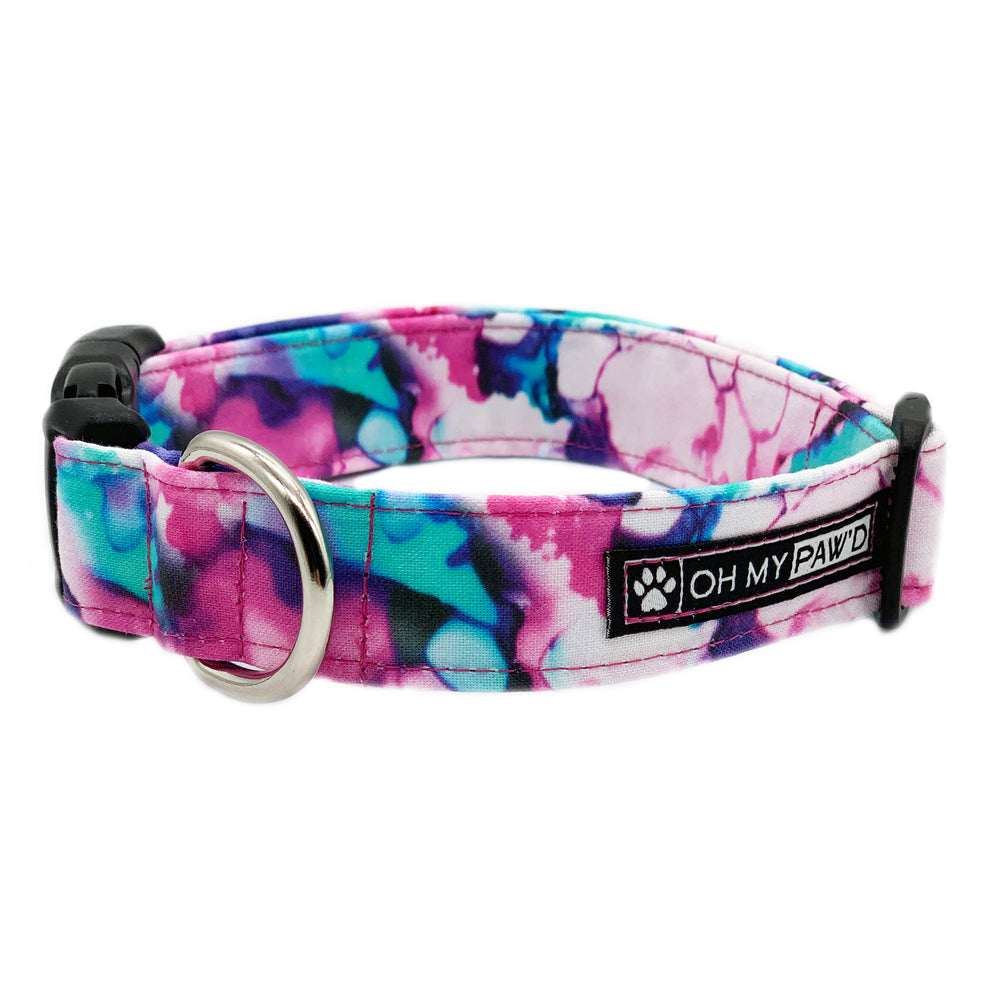 Watercolor Dog Collar