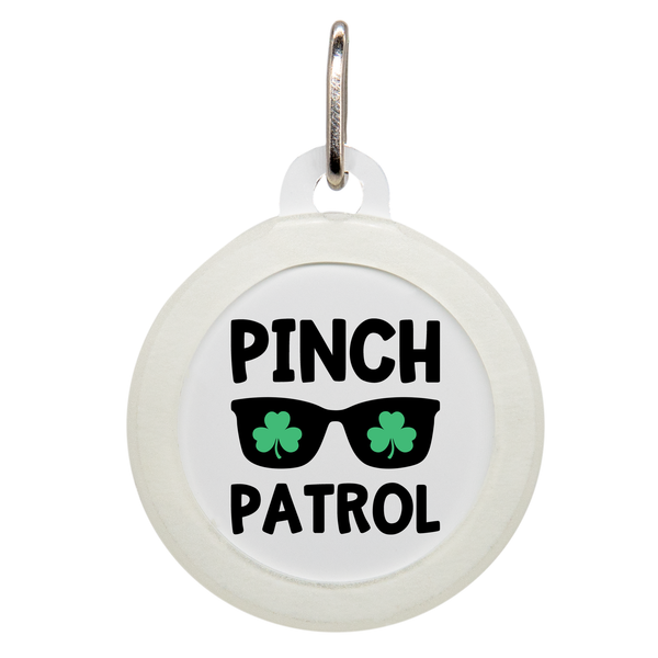 Pinch Patrol Dog ID Tag