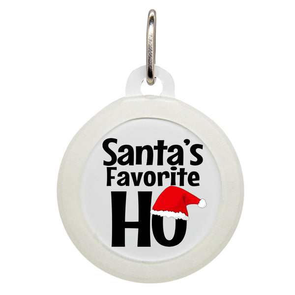 Santa's Favorite Ho Dog ID Tag