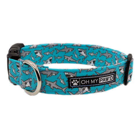 Shark Pet Collar - Oh My Paw'd