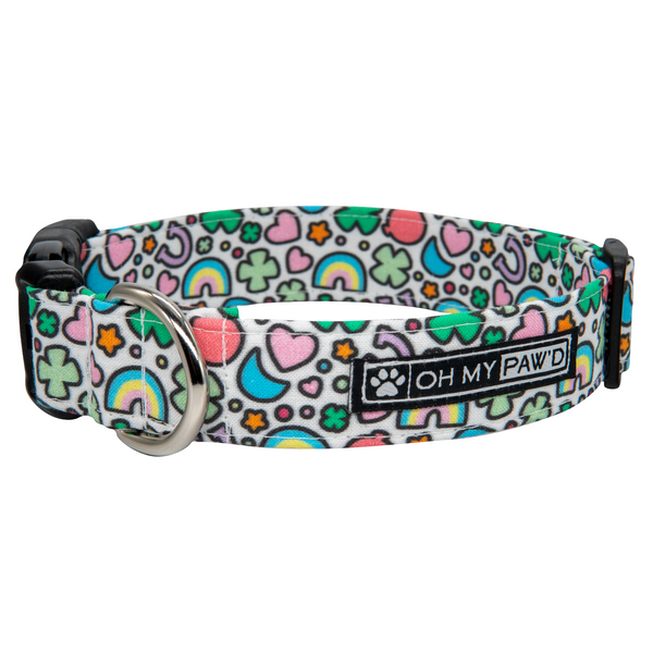 Lucky Charms Dog Collar