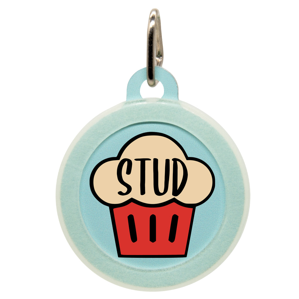 Stud Muffin Dog ID Tag