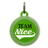 Team Nice Dog ID Tag