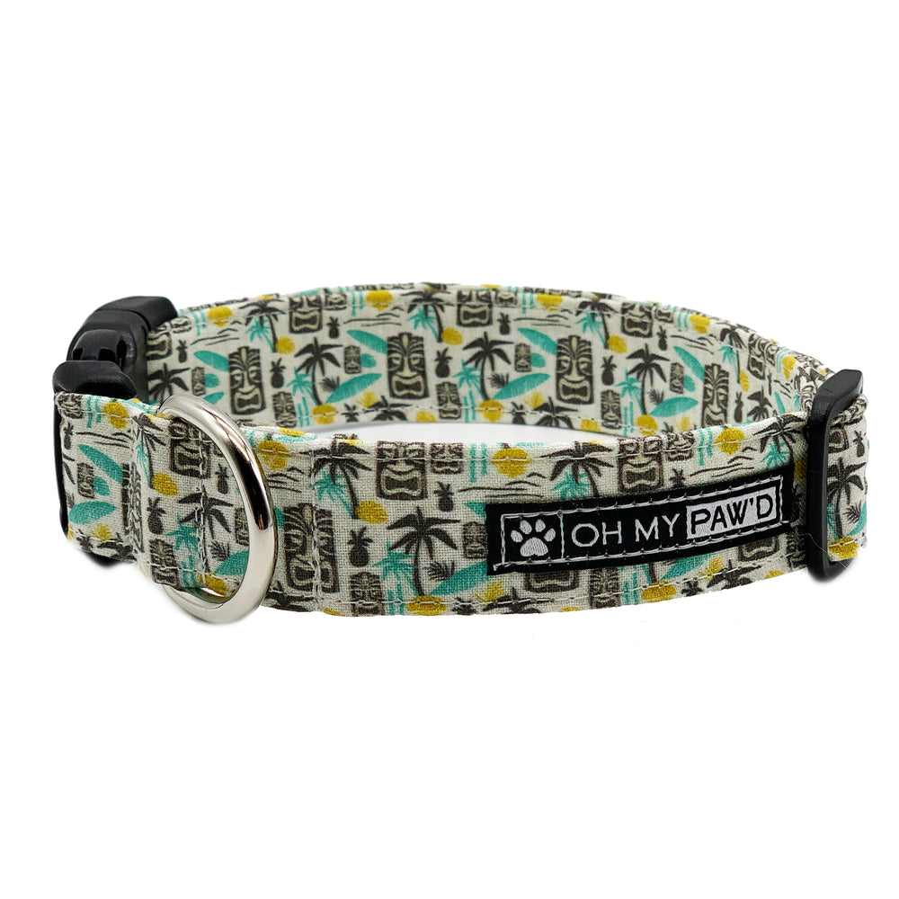 Tiki Dog Collar