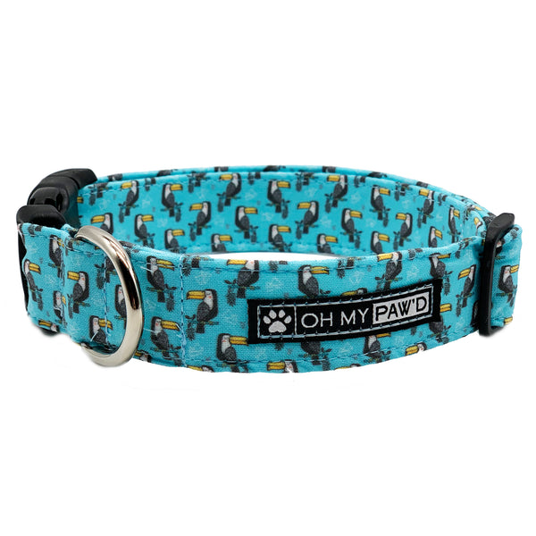 Toucan Dog Collar