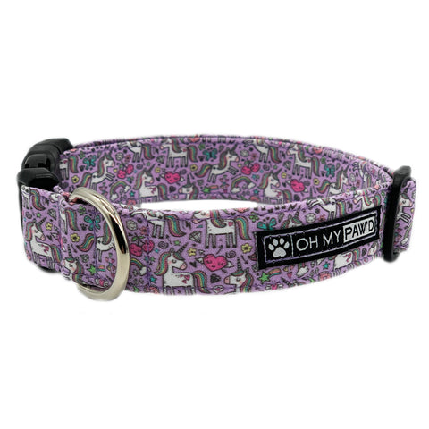 Unicorn Pet Collar - Oh My Paw'd