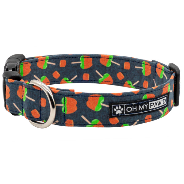 Caramel Apple Dog Collar