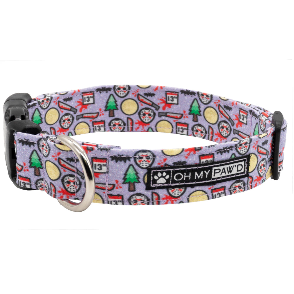 Friday the 13th Dog Collar
