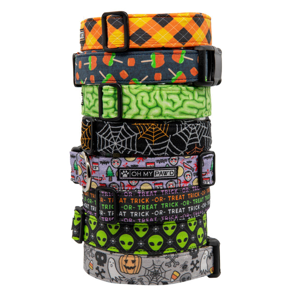 Trick or Treat Dog Collar