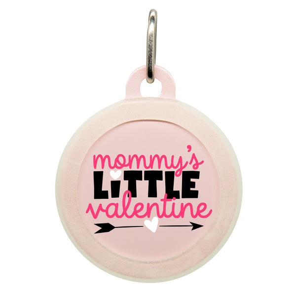 Mommy's Little Valentine Dog ID Tag