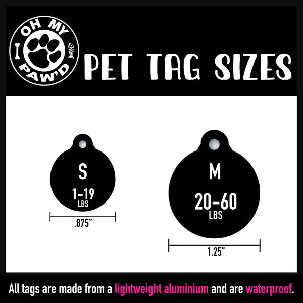 Too Cute To Pinch Dog ID Tag