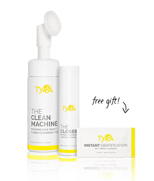 DAILY SKINCARE KIT | Cleansing Tool + Serum