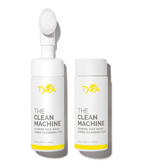 THE CLEAN MACHINE + REFILL | Foaming Face Wash + Turbo Cleansing Tool