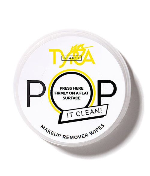 POP IT CLEAN | Single Use Makeup Remover Wipes