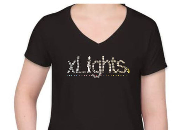 xLights Rhinestone Shirt (Bling!)