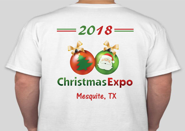 2018 Christmas Expo Shirts (FREE SHIPPING]