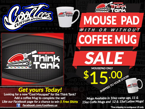 Think Tank Custom Mousepad [FREE SHIPPING]