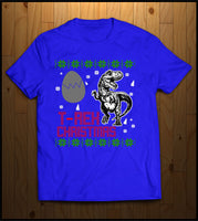 T-Rex Ugly Christmas T-shirts