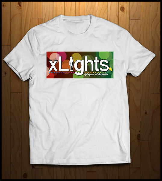 xLights Circle Logo T-Shiirt