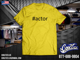 #Actor [Customized with your name]