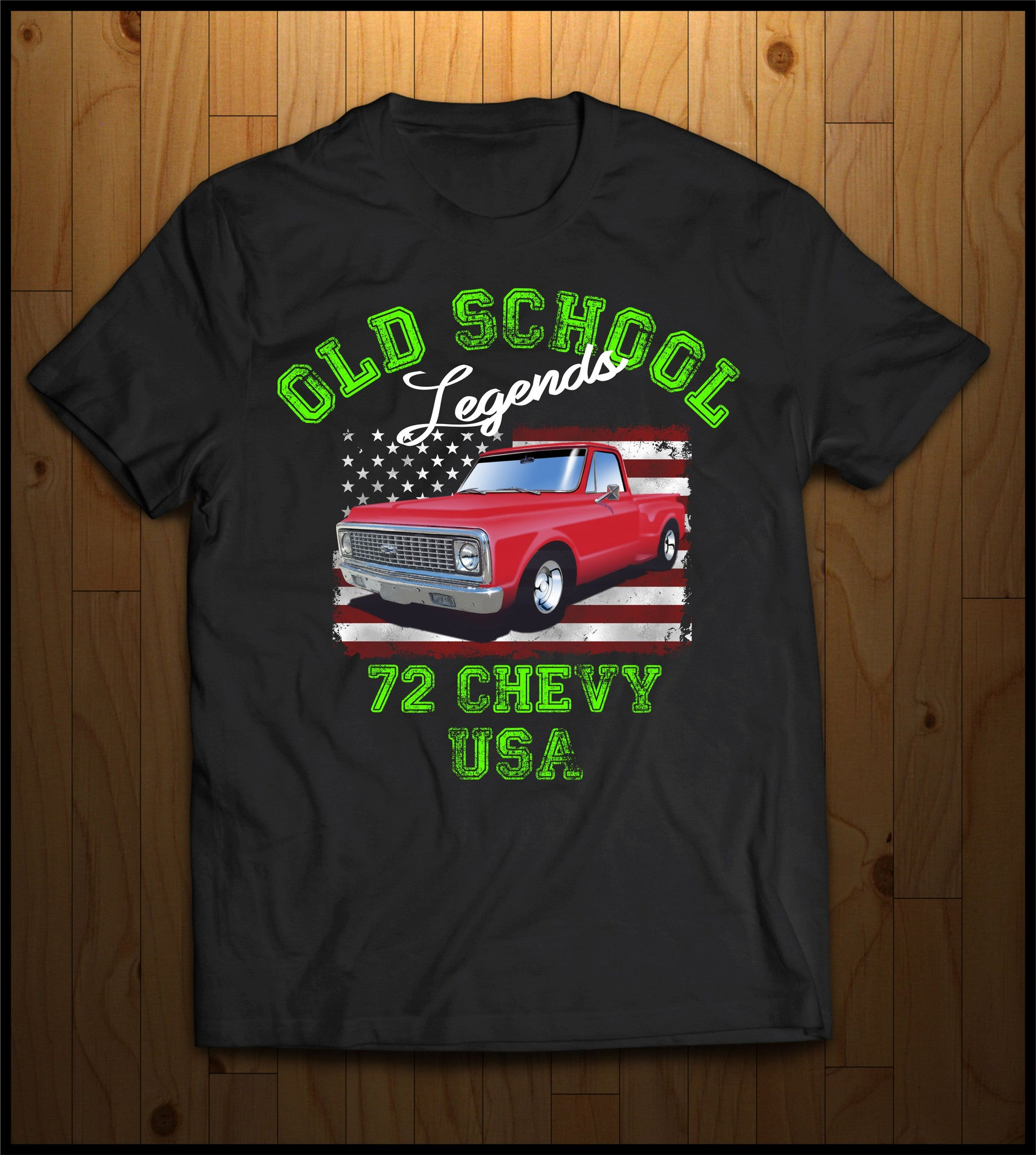 Old School 72 Chevy | Cooltees Custom Apparel