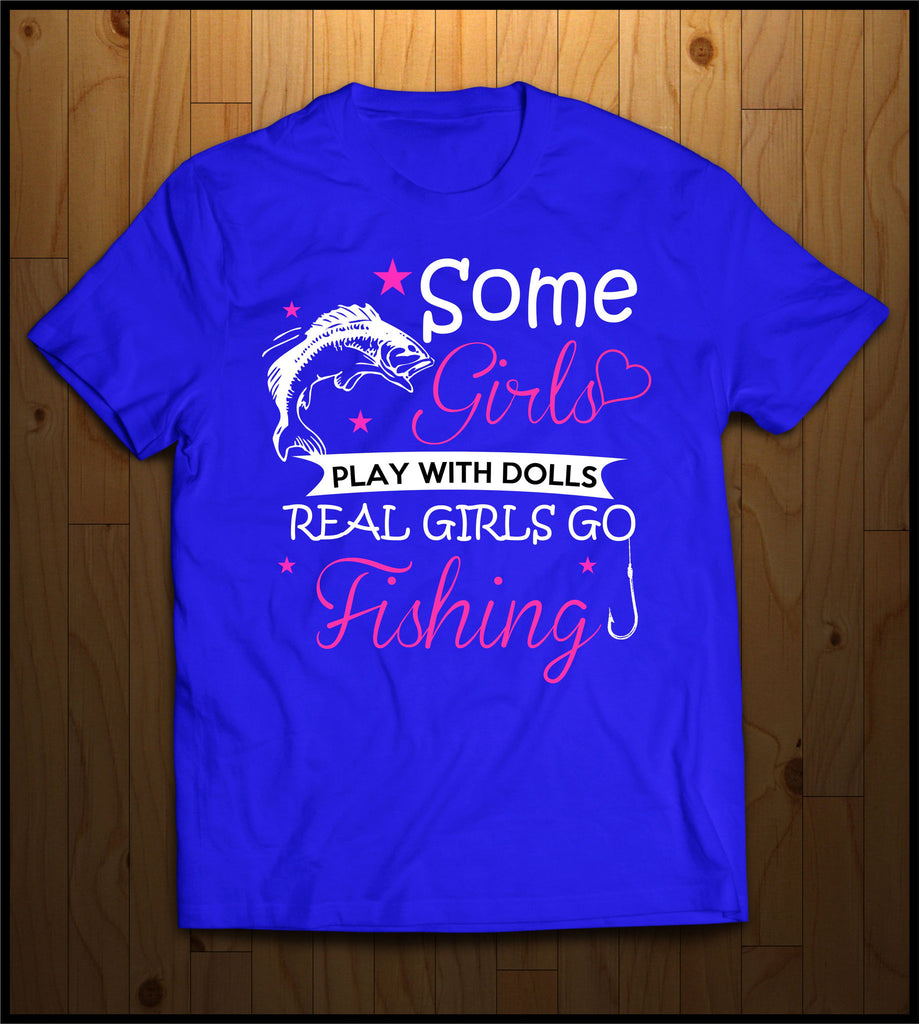 Real Girls Go Fishing!