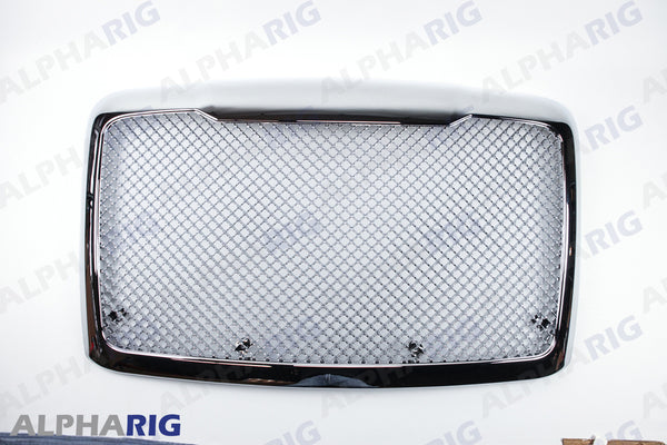 FREIGHTLINER CASCADIA GRILLE 2008+ CHROME w/BUGSCREEN