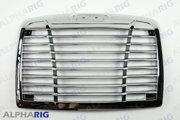 FREIGHTLINER CENTURY FRONT GRILLE 2005-2011 CHROME/BLACK w/BUGSCREEN