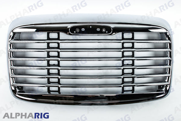 FREIGHTLINER COLUMBIA FRONT GRILLE 2002-2011 CHROME/BLACK