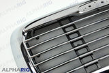 FREIGHTLINER COLUMBIA FRONT GRILLE 2002-2011 CHROME/BLACK w/BUGSCREEN
