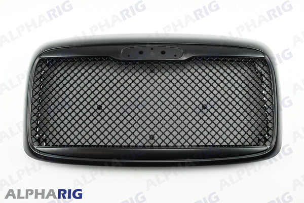 FREIGHTLINER COLUMBIA FRONT GRILLE 2002-2011 BLACK w/BUGSCREEN