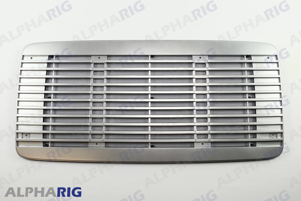 FREIGHTLINER FL60 / FL70 / FL80 FRONT GRILLE 1991-2004 SILVER w/BUGSCREEN