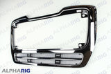 FREIGHTLINER M2 112 FRONT GRILLE 2003+ CHROME/BLACK w/BUGSCREEN