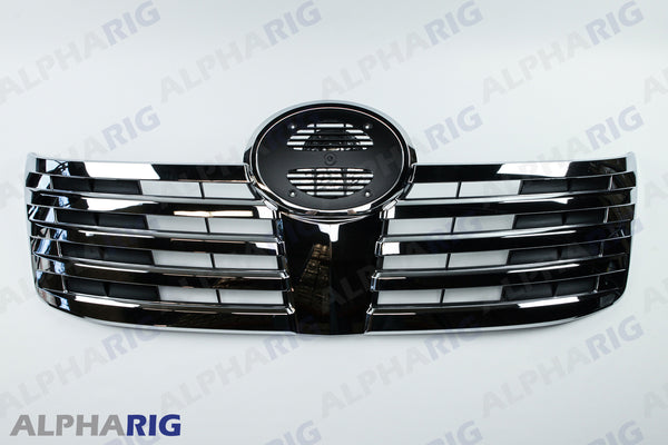 HINO 238 FRONT GRILLE 2005-2010 CHROME/BLACK
