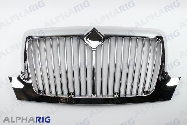 INTERNATIONAL DURASTAR / 4000 SERIES FRONT GRILLE 2002+ CHROME