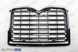 MACK VISION II  FRONT GRILLE 1998-2001 CHROME/BLACK