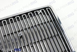 VOLVO VN FRONT GRILLE 1996-2003 CHROME/BLACK